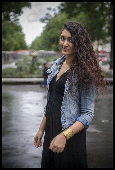 Portrait d'Anina Ciuciu, étudiante à la Sorbonne
