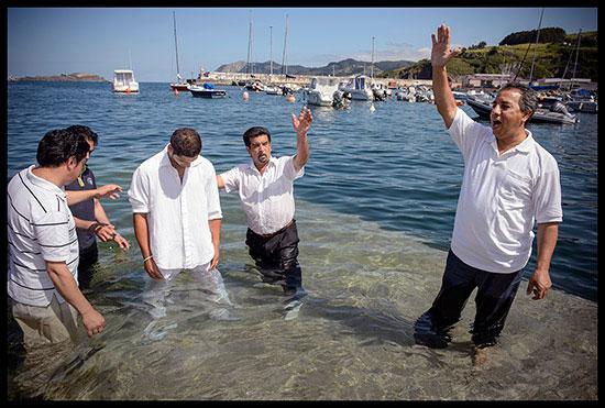 Baptême évangéliste chez des Gitans