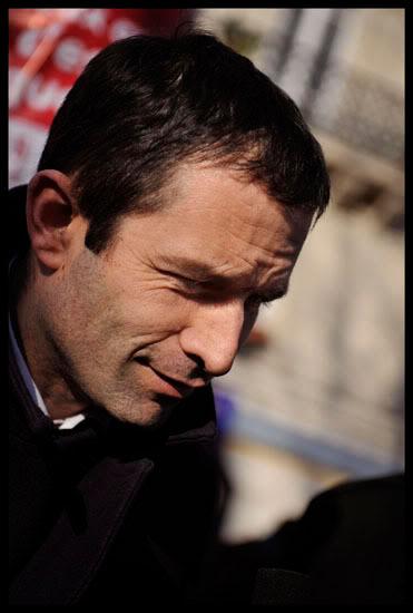 Benoit Hamon, porte parole du parti socialiste français