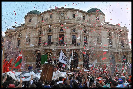 ouverture des fêtes à Bilbao
