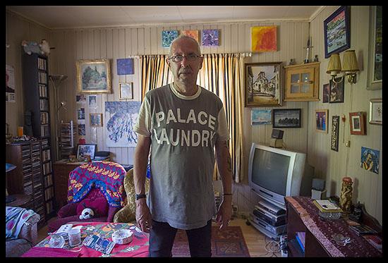 Portrait de Bjorn Grannun, Rom norvégien