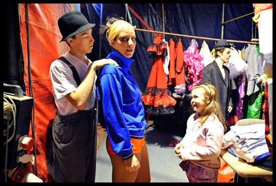 coulisses du cirque à Genève