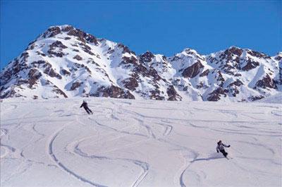 ski aux contamines