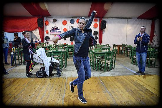 danse flamenca et palmas