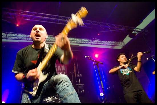 Dragan Ristić, guitariste chanteur du groupe rock et rom, Kal, Balkan Trafik, Bruxelles