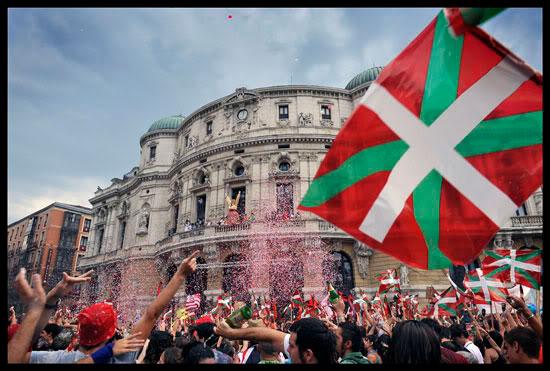 Ouverture des fêtes de Bilbao, Euskal Herria