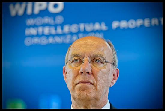 Francis Gurry, directeur général de l'Organisation Mondiale de la Propriété Intellectuelle