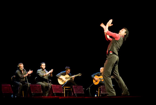 noces gitanes, spectacle flamenco du gitan Huelebien