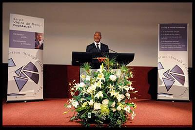 Kofi Annan Genève