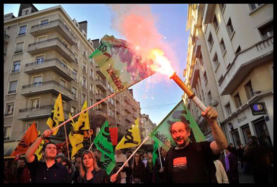Journée de grève et manifestation interprofessionnelle à Chambéry
