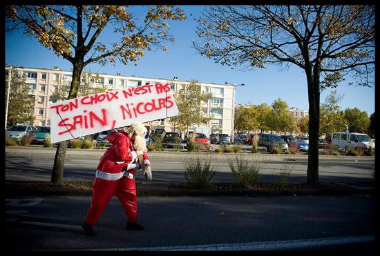 Manifestant contre la réforme des retraites à Valence