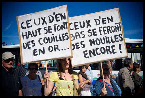 Manifestation contre la réforme des retraites à Annecy