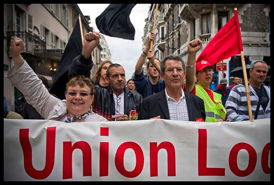 Manifestants contre la réforme des retraites