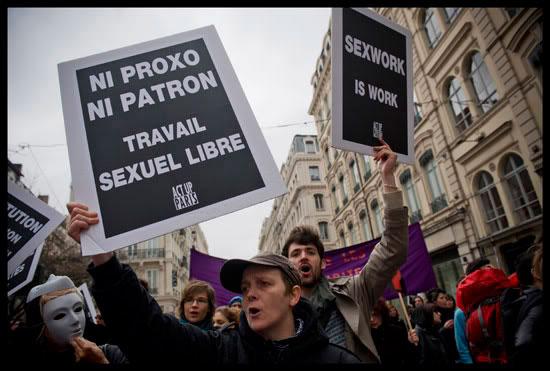 Marche pour les droits des travailleuses et travailleurs du sexe à Lyon