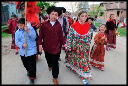 mariage chez les Roms calderari