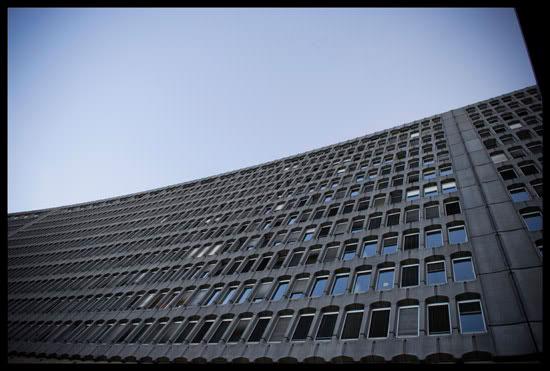 Siège de l'OIT, organisme international qui régule les droits au travail
