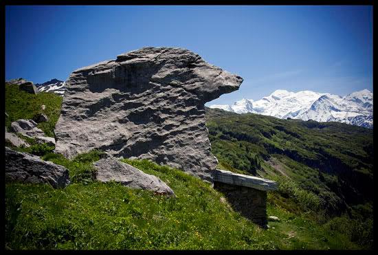 La pierre à l'Ours, Montagne de Pormenaz