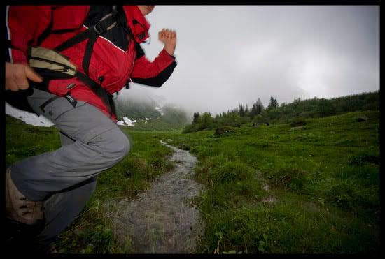 Randonnée dans le massif du Mont Blanc