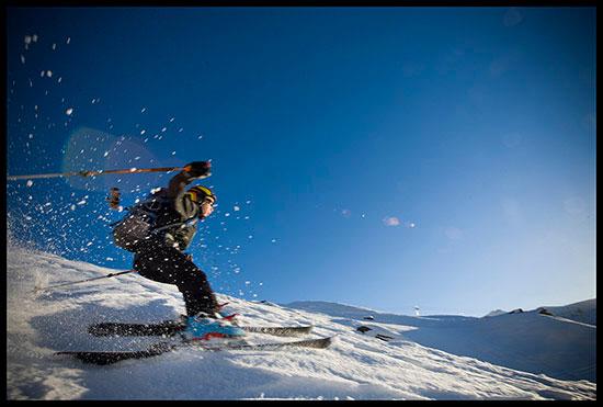Première sortie à ski de randonnée, massif du Haut Giffre