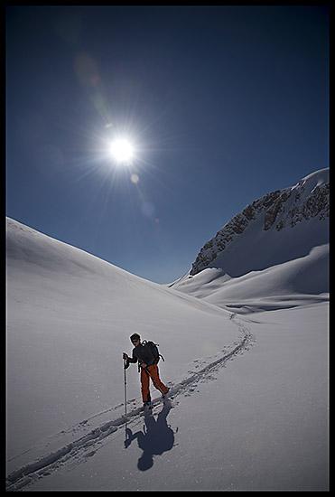 Ski de randonnée en Valais