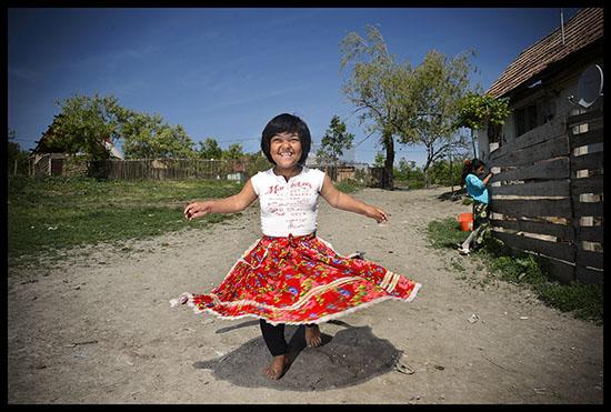 Romni qui danse