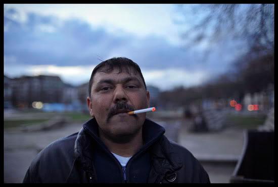 Portrait d'un Rom migrant à Genève