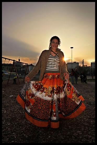 Portrait d'une Romni migrante à Genève