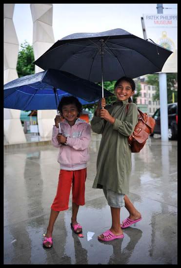 enfants roms migrants à Genève