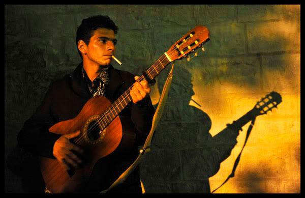 Guitariste aux Saintes Maries de la Mer