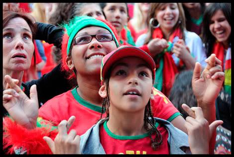 supporter portugais