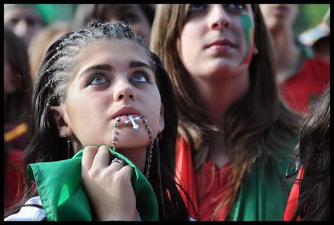 supporters portugais